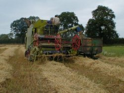 Alan and his combine
