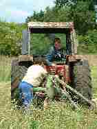 Mowing the Hay