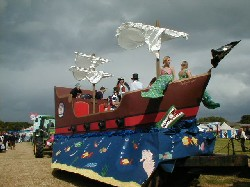 "Middlewich Young Farmers Club float -""Peter Pan"""