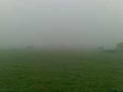 Fog hides the Drive Field