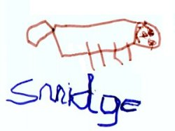Picture of Smidge by 3yrs old James